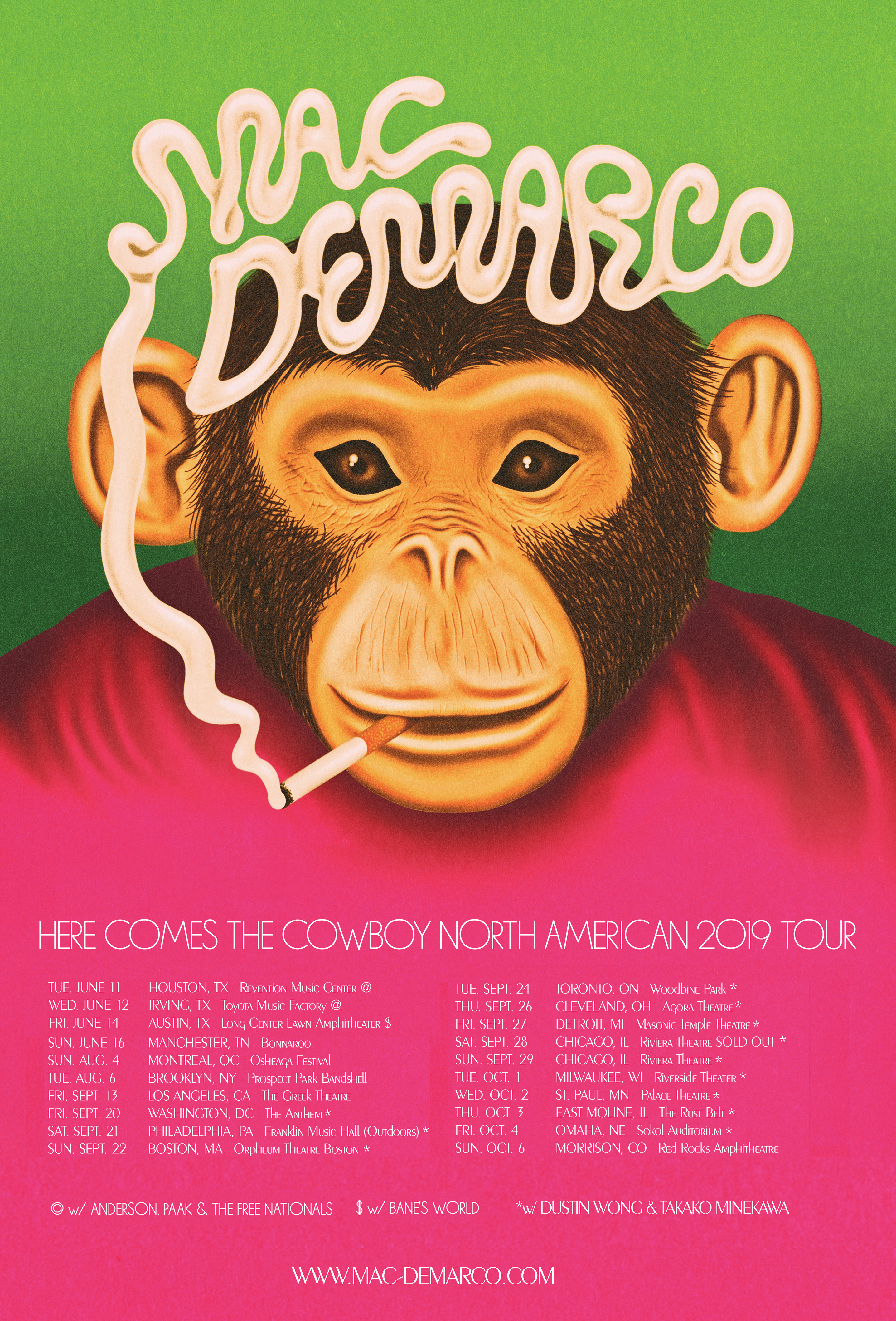 Support Announced for Fall Tour - Mac DeMarco